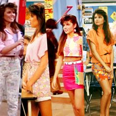 All of Kelly Kapowski's looks are still fabulous today. #style #fashion #festival