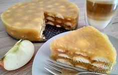 Slovak Recipes, Czech Recipes, Sweet Recipes, Cake Recipes, Healthy Recipes, Cheesecake, Different Cakes, No Bake Cake, Apple Pie