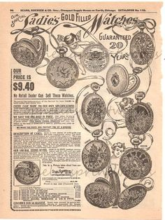 1900 advertisements   Sears, Roebuck  Co., c.1900   Old Magazines and Advertisements