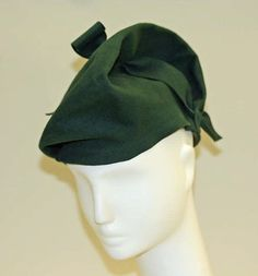 1944 French Hat by Rose Valois