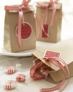 Treat Bags By Angie1968 Goo For Christmas Candy Kraft Paper Wring