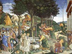 Ero giunto a quel livello di emozione dove si incontrano le sensazioni celesti date dalle arti ed i sentimenti appassionati. Uscendo da Santa Croce, ebbi un battito del cuore, la vita per me si era inaridita, camminavo temendo di cadere. (Stendhal, da cui il termine Sindrome di Stendhal)  (Sandro Botticelli a Roma)