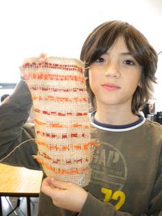 Waitsfield Elementary Art: weaving