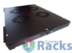"""Curitiba Racks - Componentes e acessórios de informática: KIT DE VENTILADOR 19"""" 1U X 600 MM PARA RACK COM 4 ..."""