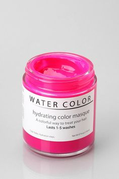 Water Color Hydrating Color Masque - temporary hair dye/hydrating masque. I may have to try this!