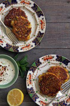 Spiced cauliflower fritters (paleo) — bonnie delicious