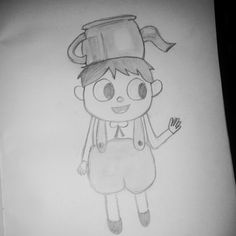 Gregory from Over the Garden Wall. I used a reference picture. By Mira.G