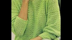Jersey a crochet tu eliges el color