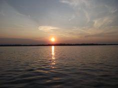 Gravel Lake. Mi sunset