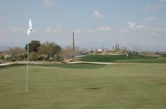 Beautiful shot of the Accenture Match Play green in Marana, AZ