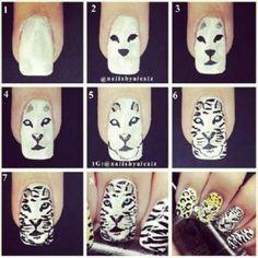 22 Mejores Imágenes De Uñas Nail Art Tutorials Acrylic Nails At