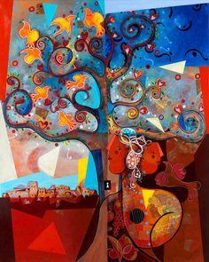 Yoël Benharrouche, La Première Phase Dans le Jardin Du Cièl (Lacquer), 2015, Eden Fine Art