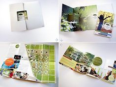 Diecut Brochure with Foldout Map for Housing Community #print #design