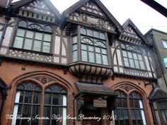 combined tudor and victorian architecture - Google Search