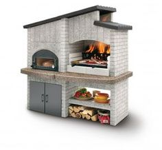 this is a pretty cool grill setup- except adam's gonna build me a better one. and its gonna be in my awesome garden.