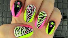 Sara beauty corner party nail art