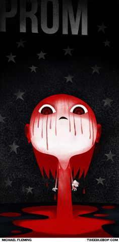 Czerwony symbolizuje krew. Dodatkowo podkreśla strach, ból, cierpienie i tęsknotę.