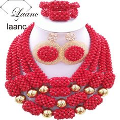 Find More Jewelry Sets Information about African Wedding Bridal Costume Jewelry Sets Nigerian Beads Crystal Red Opaque laanc AL029,High Quality jewelry dangle,China jewelry design Suppliers, Cheap jewelry shoulder from laanc african beads Store on Aliexpress.com