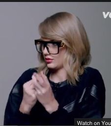 "Taylor Swift Hair in ""Shake it off"" Video"