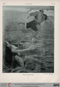 Jugend, German illustrated weekly magazine for art and life, Volume 3.1, 1898.