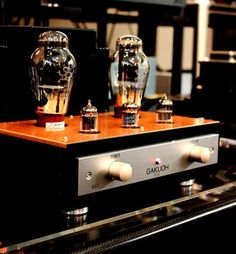 Kondo Gakuoh power amplifier. High end audio audiophile