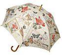 Modern Vintage Umbrellas in stick and mini folding styles!