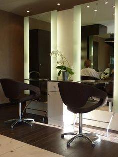 Agencement du salon Antoinette coiffure (91)