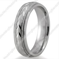 Platinum Wedding Bands are now in trend in Marriage. They seems simple but gives a stunning look to your personality.