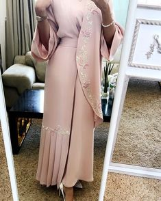 Available for order price. 2200 contact by whatsaap Sizes. De… Available for order price. Islamic Fashion, Muslim Fashion, Modest Fashion, Fashion Dresses, Abaya Mode, Mode Hijab, Abaya Designs, Estilo Abaya, Arabic Dress