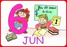 Jún Weather Seasons, Comics, Numbers, Spanish, School, Life, Seasons Of The Year, Montessori Activities, Drawing For Kids