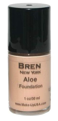 Cosmetics | Light Beige Liquid Aloe Foundation by Bren New York, a perfect combination of skincare and cosmetics in one. $19.00