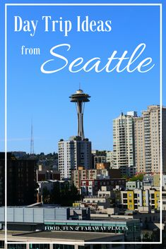 It's so easy to take day trips from Seattle. I've only been to the city of Seattle twice, but looking at how much there is to see and do around the city makes me want to take a week to explore. #SeattleDayTrips #SightsNearSeattle #SeattleGetaways #GetawaysNearSeattle #WeekendTripsNearSeattle