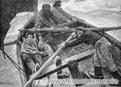 """""""Seenotrettung von Land"""" (In Fact, Aboard a Breton Sardine Lugger)"""