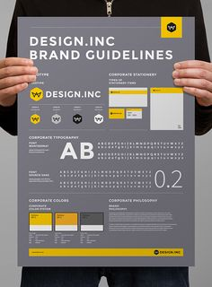 Brand Manual and Identity PosterMinimal and Professional Brand Manual and Identity Poster template for creative businesses, created in Adobe InDesign in International DIN format.This Brand Manual Template features: page size : mm US … Corporate Identity Design, Brand Identity Design, Branding Design, Logo Design, Branding Ideas, Logo Guidelines, Brand Guidelines Template, Graphic Design Tips, Web Design
