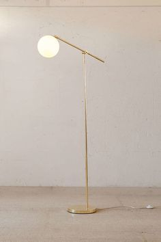 On the hunt for floor lamps: Urban Outfitters Apartment Globe lamp | Scotch and Nonsense