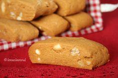 Italian Biscuits, Italian Cookies, Biscotti Cookies, Almond Cookies, Sweets Recipes, Cookie Recipes, Desserts, Almond Biscotti Recipe, Italian Pastries