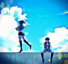 Levi and Hanji // AoT...I ship it