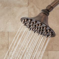Merriam Rainfall Nozzle Shower Head - Oil Rubbed Bronze