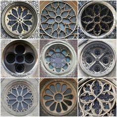 Church Round Windows