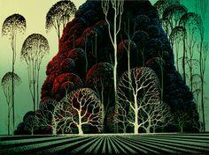 Eucalyptus Forest (serigraph)