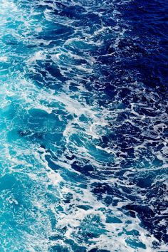 Deep blue sea water with spray. Areal shot of rough sea with lot of spray , Blue Aesthetic Dark, Water Aesthetic, Rainbow Aesthetic, Aesthetic Colors, Aesthetic Pictures, Wallpaper Azul, Ocean Wallpaper, Blue Colour Wallpaper, Blue Photography