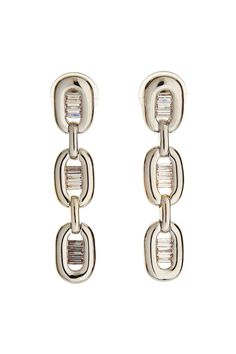 Radiant Silver Tone Earrings - JEWELRY For matching necklace - http://www.mkcollab.com/profile/sharonwatkins