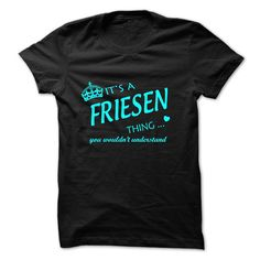 (Tshirt Best Sell) FRIESEN-the-awesome Good Shirt design Hoodies, Tee Shirts