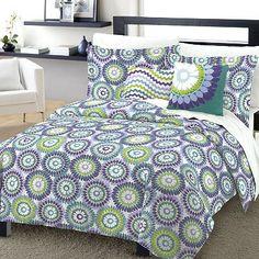 One Home Lulu 4-pc. Comforter Set - XL Twin