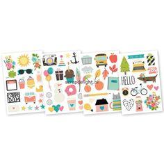 Simple Stories | Simple Stories Carpe Diem: Illustrated Life stickers | Scrapdelight Scrapbookwinkel