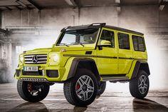 [画像]メルセデス・ベンツ、特殊車両技術を投入した「Gクラス」の特別仕様車 / 価格は3510万円。4月4日~5月31日の期間限定で販売 - Car Watch