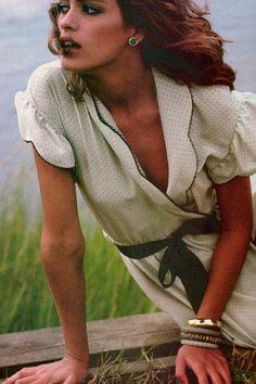 Gia Carangi by Francesco Scavullo for Vogue US, November 1980
