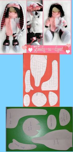 free doll pattern   ♥...Nims...♥