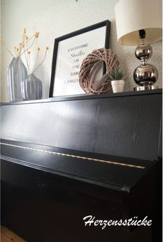 Klavier dekorieren