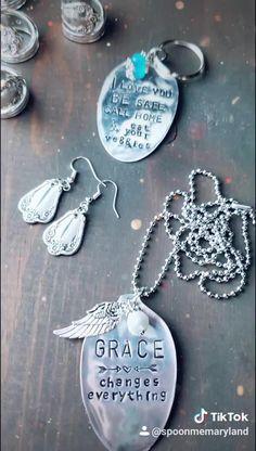 Recycled Silverware, Silverware Jewelry, Spoon Jewelry, Spoon Rings, Jewlery, Soldering Jewelry, Jewelry Tools, Jewelry Crafts, Jewelry Design